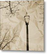 The Lampost Metal Print