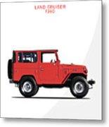 The Land Cruiser Fj40 Metal Print