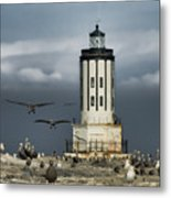 The Landing Zone Metal Print