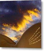 The Landscape Of Lorna. Metal Print