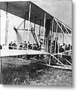 The Langley Airplane Metal Print