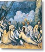 The Large Bathers Metal Print