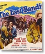 The Last Bandit 1949 Metal Print