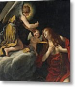 The Last Communion Of The Magdalene Metal Print