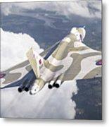 The Last Flight Of The Vulcan Metal Print