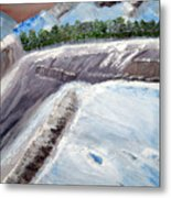The Last Glacier Metal Print