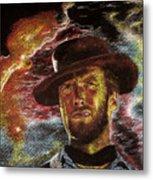 The Last Gunslinger Metal Print