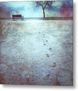 The Last Snowfall Metal Print