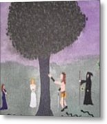 The Last Tree Metal Print