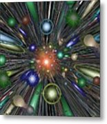 The Law Of Gravity Metal Print