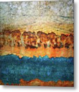 The Layers Metal Print
