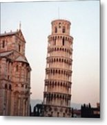 The Leaning Tower Of Pisa Metal Print