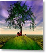 The Learning Tree Metal Print