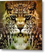 The Leopard Of The Temple  Metal Print