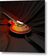 The Les Paul Metal Print