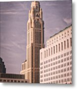 The Leveque Tower Of Columbus Ohio Metal Print