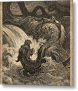 The Leviathan Metal Print