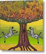The Life-giving Tree. Metal Print
