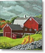The Light After The Storm Metal Print