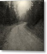 The Light At The End Of The Road Metal Print