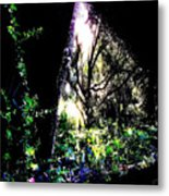 The Light At The End Of The Triangle Metal Print by Eikoni Images