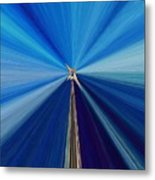The Light Fantastic Speedway Metal Print