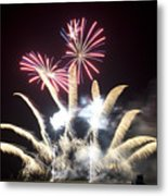 The Light Flowers Metal Print