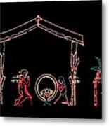 The Light Of Christmas Metal Print