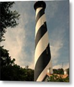 The Lighthouse In St.augustin Fl Metal Print