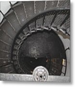 The Lighthouse Stairs Metal Print