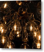 The Lights Metal Print