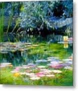 The Lily Pond I Metal Print
