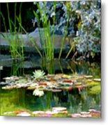 The Lily Pond II Metal Print