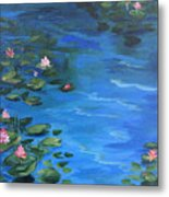 The Lily Pond II  Metal Print