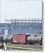 The Linc From The Other Side Of The Tracks Metal Print