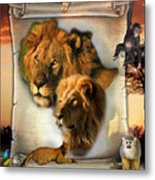 The Lion King From Africa Metal Print