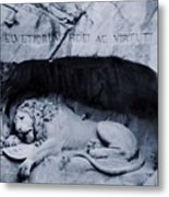 The Lion Of Lucerne Metal Print