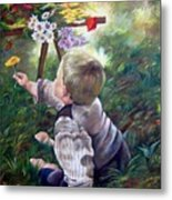 The Little Boy Metal Print