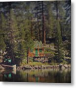 The Little Cabin Metal Print