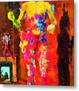 The Little Girl - Pa Metal Print