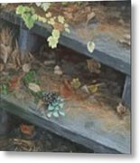 The Little Pine Cone Metal Print