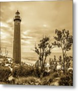 The Little Sable Lighthouse Metal Print