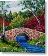 The Little Stone Bridge Metal Print