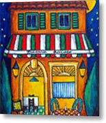 The Little Trattoria Metal Print