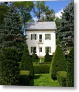 The Little White House Metal Print