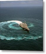 The Littoral Combat Ship Uss Independence Metal Print
