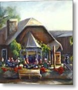 The Local Grill And Scoop Metal Print