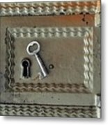 The Lock Box Metal Print