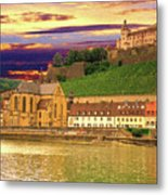 The Lock On The Hill Metal Print
