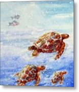 The Loggerheads Catch The Currents Metal Print